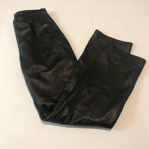 Wilsons Leather Black Riding Pants Sz 8
